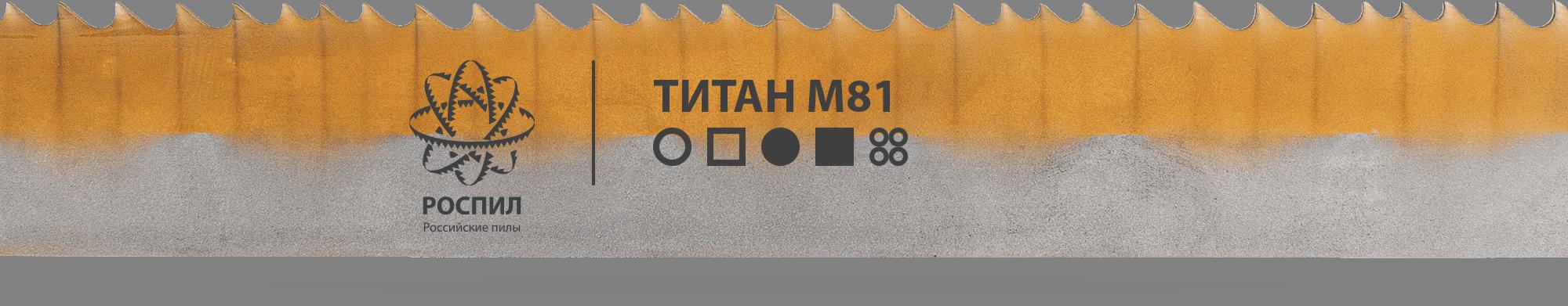 РОСПИЛ ТИТАН М81